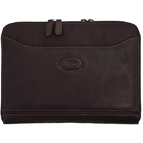 Ashwood Mayfair A4 Double Zip Tablet Case in Colombian Leather Colombian - In Stores Mayfair