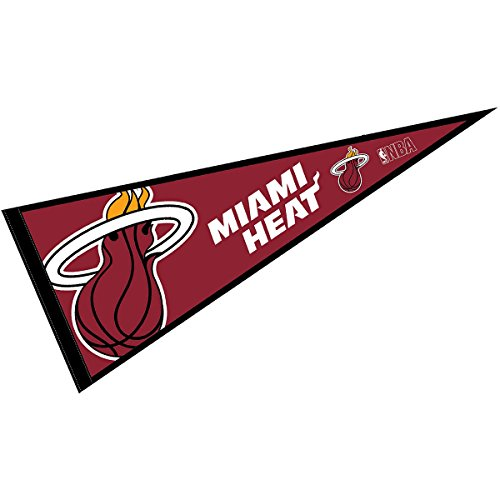 WinCraft Miami Heat Pennant Full Size 12