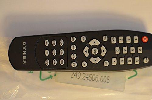 Dynex LCD TV Remote Control Z49.24S06.005 Z4924S06005 Suppli