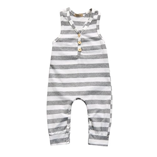 Beige, 0-3M Kavitoz Clearance////Toddler Baby Girls Romper Jumpsuit Playsuit Infant Headband Clothes Outfits Set For 0-18M
