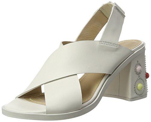Paul & Joe Damen Fbaloo Slingback Sandalen Creme