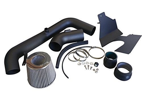 R&L Racing AF Dynamic Black Air Filter Intake Systems with Heat Shield 2013-2014 for Ford Focus ST 2.0 2.0L Turbo