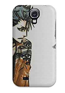 New Style Durable Defender Case For Galaxy S4 Tpu Cover(bleach)
