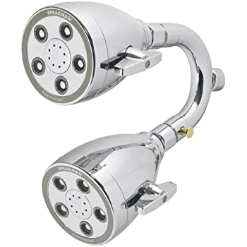 Speakman S-2222-HS-CP-I Heavenly Anystream 360 Dual Shower Head
