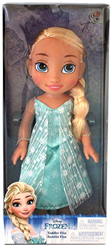 Disney 039897989211 Frozen Elsa Toddler Doll, Blue