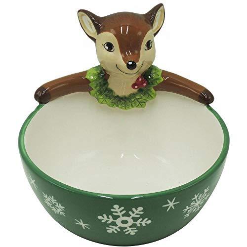 - Christmas Holiday Figural Bowl Set (reindeer)
