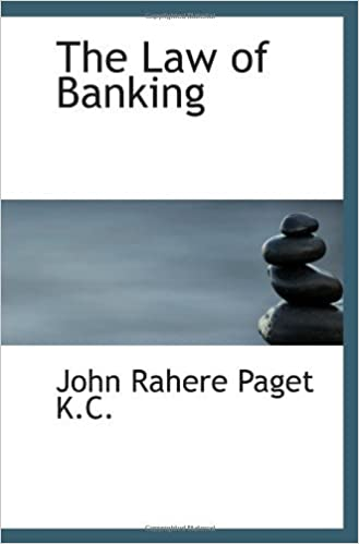 Book The Law of Banking by John Rahere Paget (18-Nov-2009)