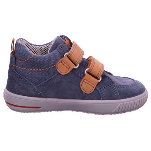 Superfit Moppy - Zapatillas de running Bebé-Niñas azul - Blau (MOONLIGHT KOMBI 91)