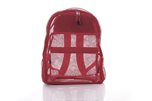 All Red Backpack - 8