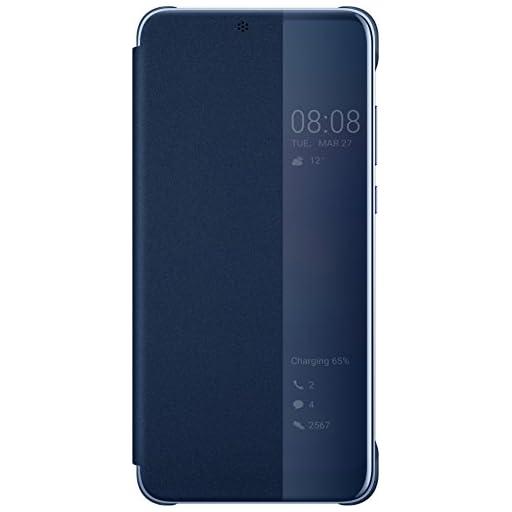 HUAWEI ◆ 【ファーウェイ 純正】P20 Smart View Flip カバー ケース 青 Deep Blue 【純正品】 Official 【並行輸入品】