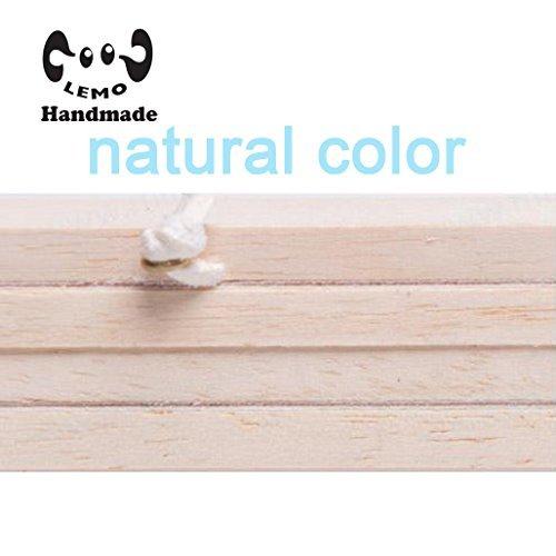 Magnetic Poster Frame Hanger - Oak Wood Artwork Print Holder Canvas Quilt Wooden Hanging HD07 (natural color) -