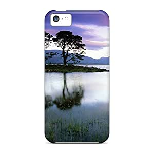 New Snap-on 88caseme Skin Cases Covers Compatible With Iphone 5c- Isolated Trees