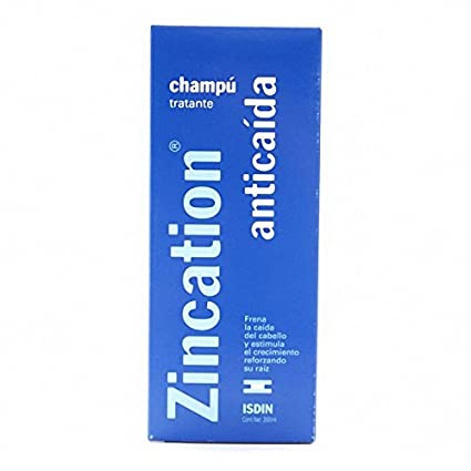 ZINCATION ANTICAIDA CHAMPU 200 ML: Amazon.es: Belleza