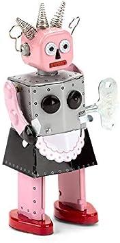 FANMEX - Fantastik - Robot de hojalata a Cuerda - Robot Roxy: Amazon.es: Juguetes y juegos
