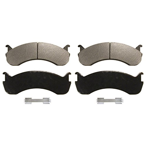 Ford F53 Replacement - Wagner Severe Duty SX786A Semi-Metallic Disc Pad Set Includes Installation Hardware, Front