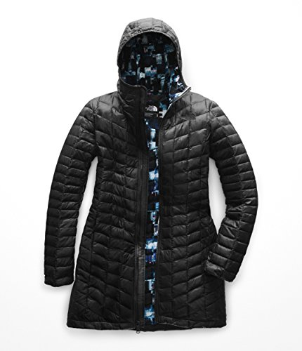 The North Face Women's Thermoball¿ Parka II TNF Black/Multi Glitch Print X-Small