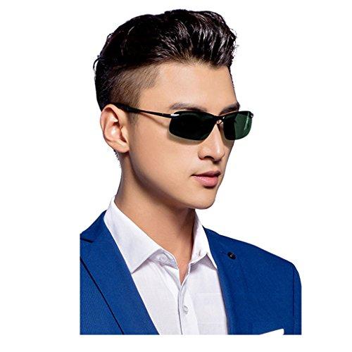 Masculinas de Gafas de Sol 3 Sol Driving Mirror DT Driver Color Gafas Estilo Nuevo 1 Polarizing qBTxta0