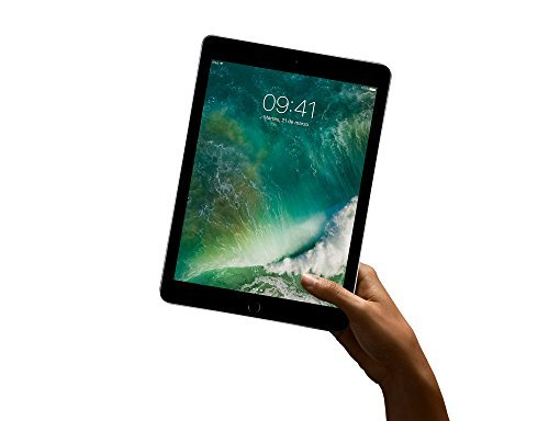 Apple iPad with WiFi + Cellular, 32GB , Space Gray (2017 Model)