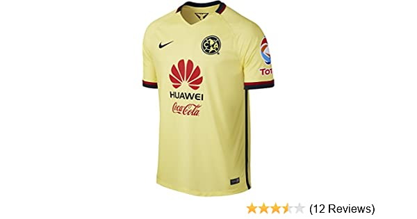 NIKE Mens Club America Home Stadium Jersey [Lemon Chiffon]