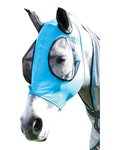 Professional`S Choice Comfort Fit Fly Mask HORSE Pacificblue