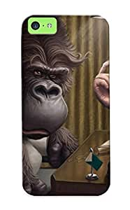 Premium Durable No Monkey Business Fashion Tpu Iphone 5c Protective Case Cover