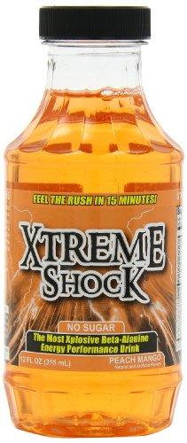 Ansi Extreme Shock RTD, Peach Mango,12-Count