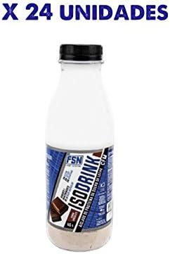 ISODRINK, aislado de proteina de suero de leche, caja de 24 ...