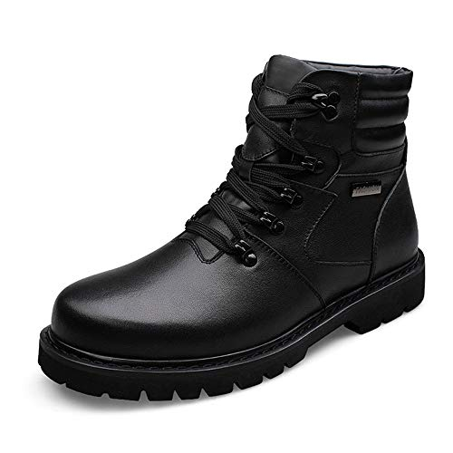 Pour Grande Eu Noir Intérieur Haut Hommes Easy 40 Faux Simple Shopping color Cricket Loisirs Hiver Go Noir Casual De Botte Fleece Taille chaussures Bottines w47tp
