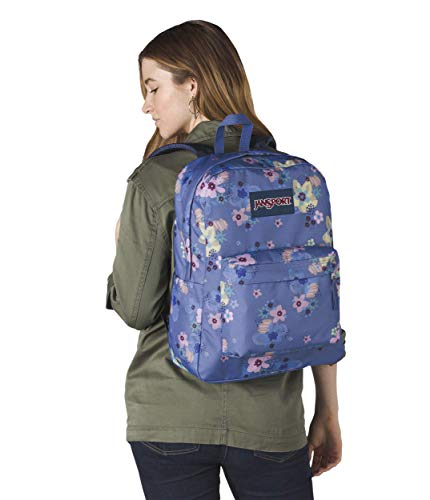 Jansport Black Backpack Artist Unisex Floral Label Adult Superbreak Jansport Unisex Adult ww8qXr