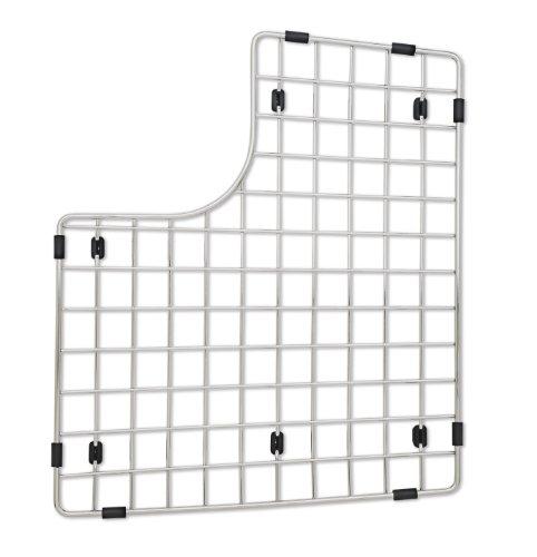 - Blanco 222469 Sink Grid, Fits Performa Silgranit II Double Bowl left bowl, Stainless Steel