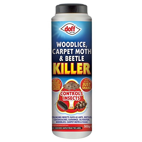 Doff Woodlice, Carpet Moth & Beetle Killer 300g