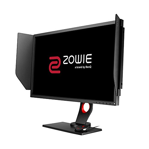 BenQ ZOWIE 27 inch 240Hz eSports Gaming Monitor, 1080p, 1ms Response Time, Black eQualizer, Color Vibrance, S-Switch, Shield, Height Adjustable (XL2740)