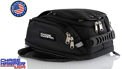 Chase Harper USA 6XM Magnetic Tank Bag - Water-Resistant, Tear-Resistant, Industrial Grade Ballistic Nylon with Anti-Scratch Rubberized Polymer Bottom, Super Strong Neodymium Magnets