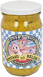product image for Tony Packo Mustard Relish - 16 oz (4 pack) with FREE Jar Opener