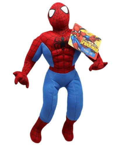 13 Inch Standing Web Slinger Spider Sense Spiderman Plush Doll