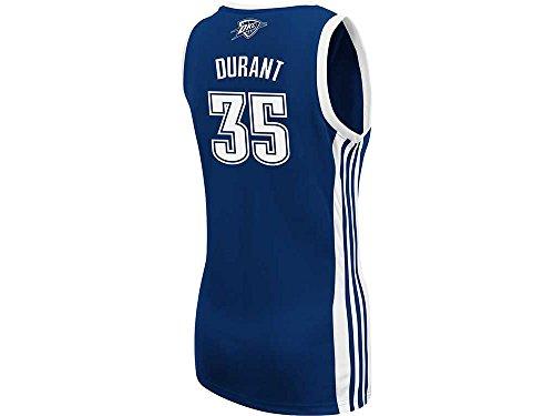 (NBA adidas Kevin Durant Oklahoma City Thunder Ladies Replica Road Jersey - Navy Blue (Large))