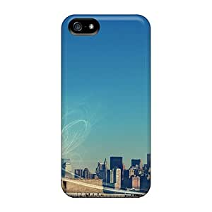 Fashionable Style Cases Covers Skin For Iphone 5/5s- New York Statue