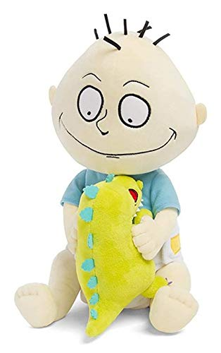 "ThinkGeek Nickelodeon Rugrats Tommy Pickles with Reptar 12"" Plush Exclusive"
