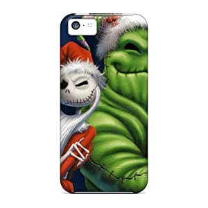 New Style Case888cover Hard Cases Covers For Iphone 5c- Jack And Oogie
