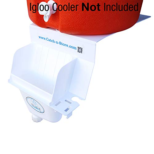 Igloo Drip Catcher - White - Catch All Your Drips, Seeps, Leaks, and Accidental Pours! Keep The Messes Off The Ground Not Included …