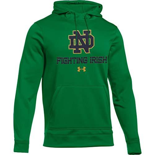Under Armour Notre Dame Fighting Irish Interlocking ND Cold Gear Hoody (XX-Large)