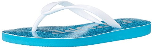Blue by Betsey Johnson Women's SB-Amy Flip Flop, Ivory, 7 M US