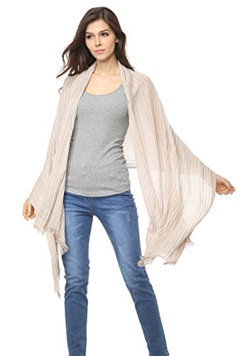 Cotton Striped Shawl Lightweight Scarves product image