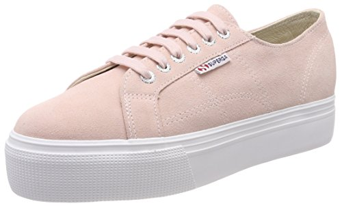 Suew Skin Superga Sneaker 2790 Pink Pink Donna wHqqT0x74