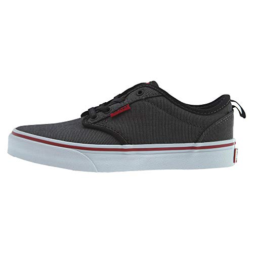 Vans Atwood Slip-On Youth US 3 Gray Skate Shoe ()