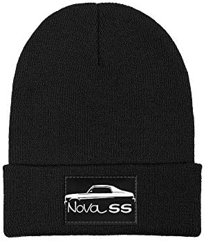 Auto Kids Car Truck Knit Skull Cap WaveCaps Chevy Automotive Youth Cuffless Charcoal Gray Beanie Hat