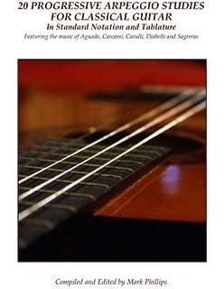 Guitar Flight Tracker Matteo Carcassi 25 Melodic And Progressive Studies Musical Instruments & Gear