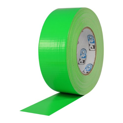 ProTapes Pro Duct 139 PE-Coated Cloth Fluorescent Specialty Grade Duct Tape, 60 yds Length x 2
