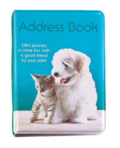 Kitty & Puppy Address Book (Puppies Book Address)