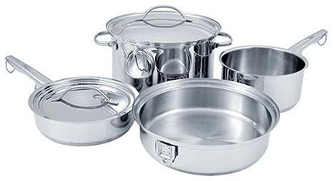 Amazon.com: Cuisinart stow-8 Stowaway 8-Piece Acero ...